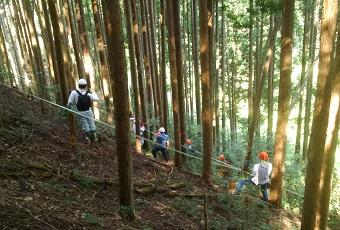 森林施業プランナー選木実習
